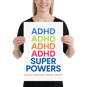 ADHD Superpowers Print