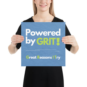 Powered by Grit Print
