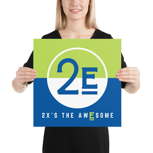 2x's the Awesome Print