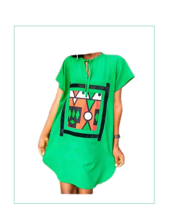 Tribal Shirt Dress