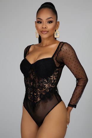 Chasity Lace Bodysuit