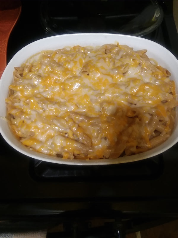 Non Dairy Mac and Cheese Bake