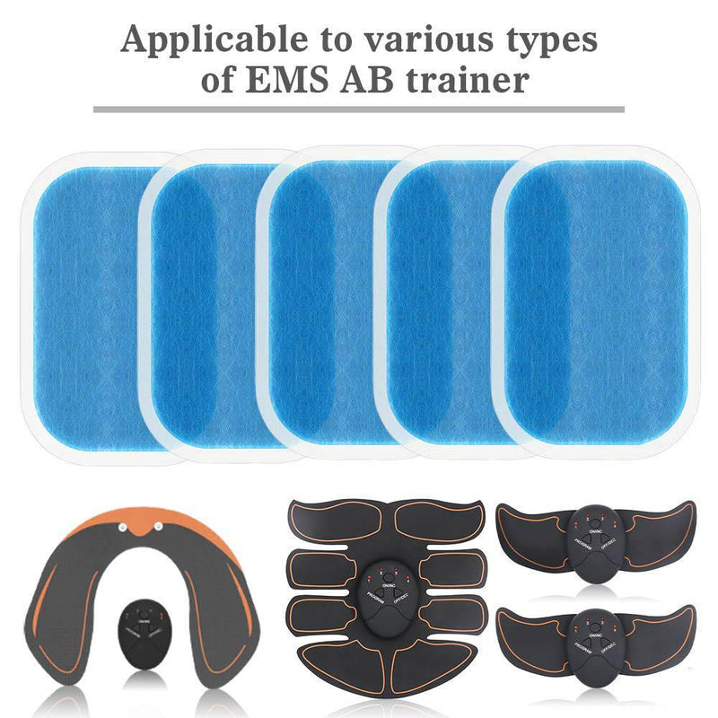14Pcs Replacement Gel Pads Sheet Abdominal Belt Toning Muscle Toner ABS Stimulator Hydrogel Pads Sticker AB Trainer Accessories - Smartfatburner.com