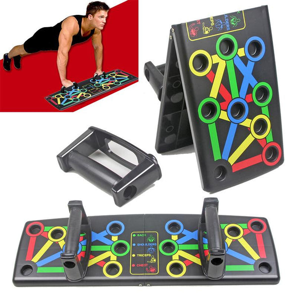 14 In 1 Push-up Board Foldable Push Up Rack - Smartfatburner.com