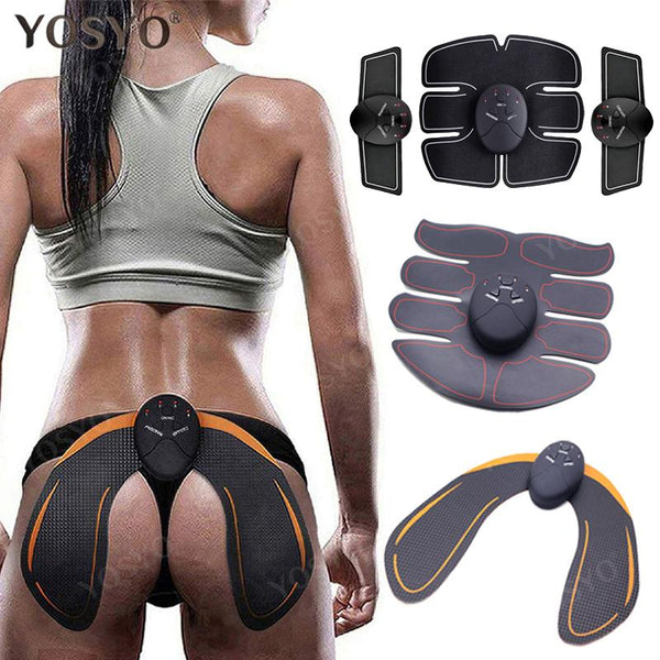 EMS Hip Trainer Muscle Stimulator ABS Fitness Buttocks Butt Lifting Buttock Toner Trainer Slimming Massager Unisex - Smartfatburner.com