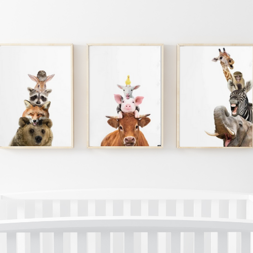 Silly Animals - set of 3