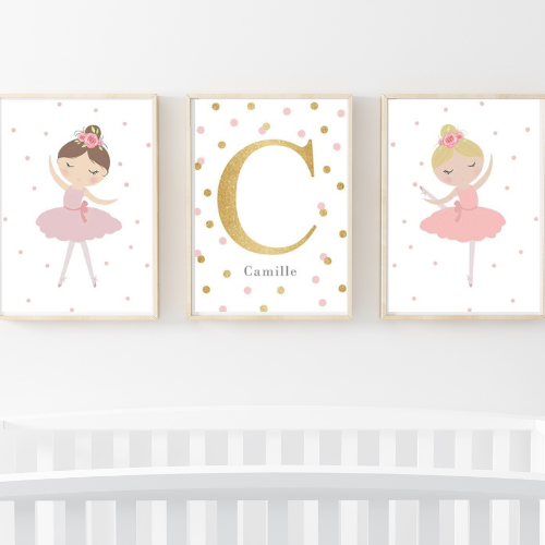 Tiny Dancer - set of 3