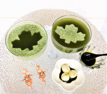 Load image into Gallery viewer, MATCHA KANTEN MIX sample image 抹茶寒天 from Kanten Canada
