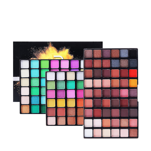 162 Colors Eye shadow Palette, Bold and Bright Collection