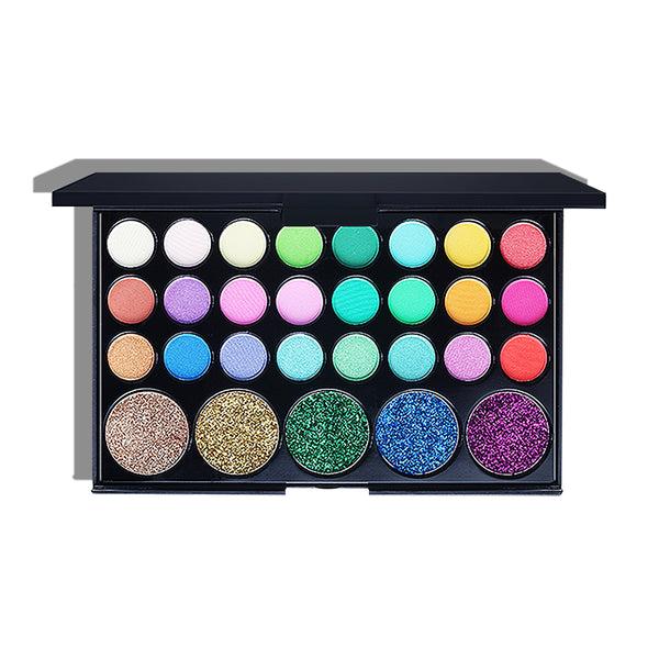 Eyeshadow & Glitter  Makeup Palette