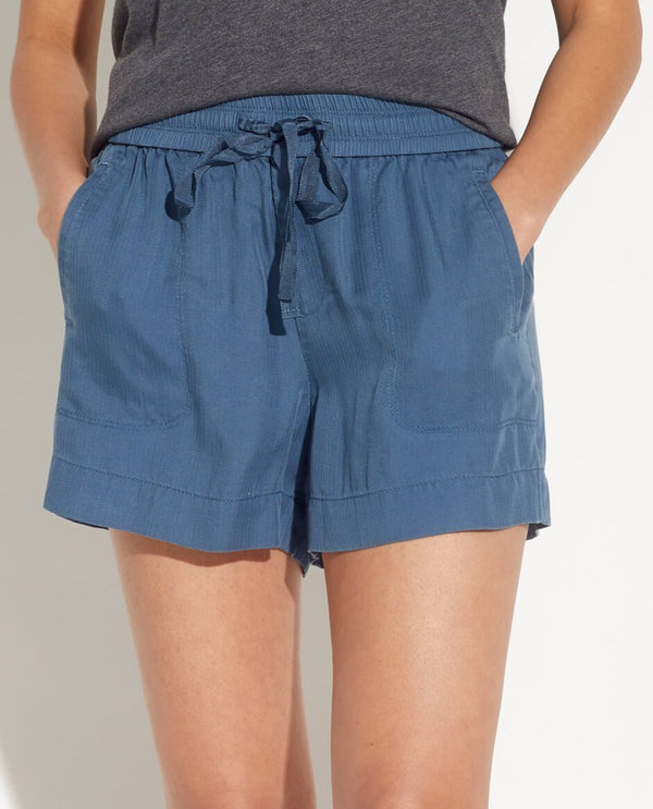 Pull On Shorts With Pockets - Workshop - JANE + MERCER