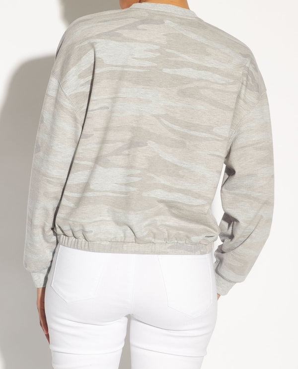 Cloudy Camo Sweatshirt - For The Republic - JANE + MERCER