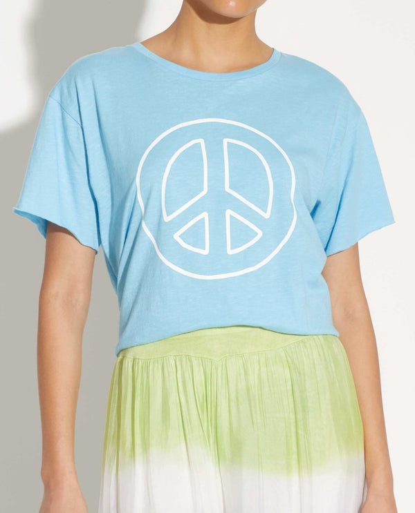 Peace Sign Tee - For The Republic - JANE + MERCER