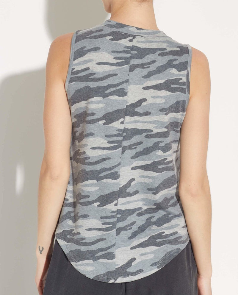 Camo Tank Top - For The Republic - JANE + MERCER