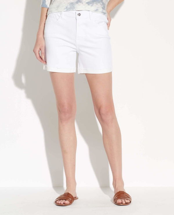 Five Pocket Cuffed Shorts - For The Republic - JANE + MERCER