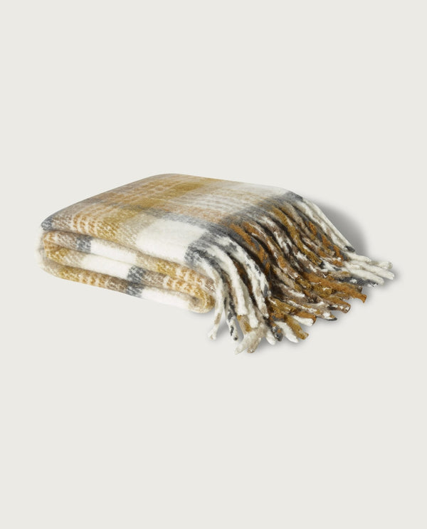 Watson Plaid Throw - Magaschoni Home - JANE + MERCER