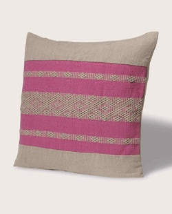Eva Panel Pillow, Hot Pink - Magaschoni Home - JANE + MERCER