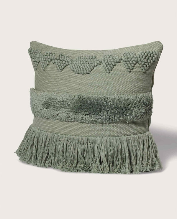 Lux Morroccan Pillow, Desert Sage - Magaschoni Home - JANE + MERCER