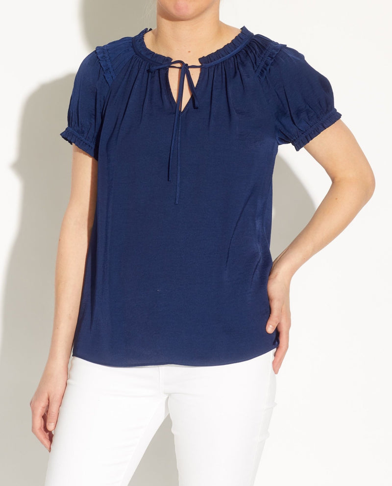 Airflow Key Hole Blouse - Catherine Malandrino - JANE + MERCER