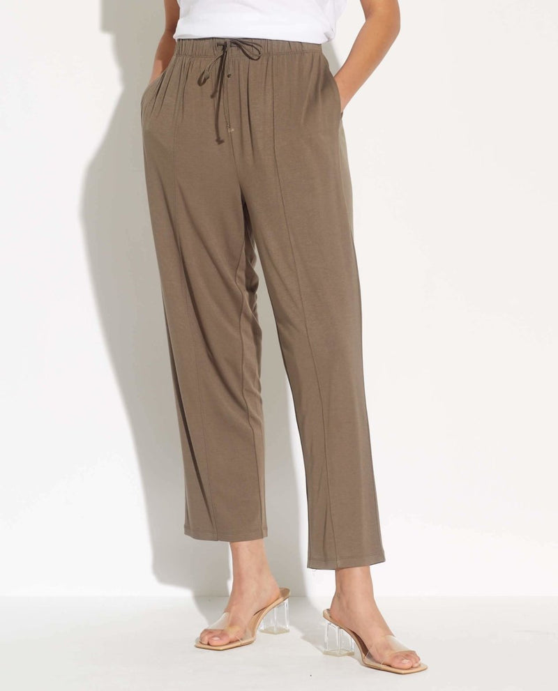 Pull on Ankle Length Pants - T Tahari - JANE + MERCER
