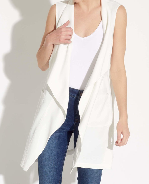 Self Belted Vest - T Tahari - JANE + MERCER