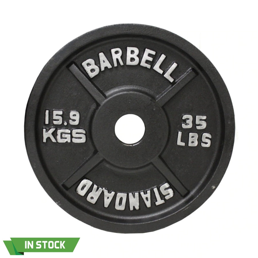 35 Lbs Cast Iron Plate Olympic 2 - Pair