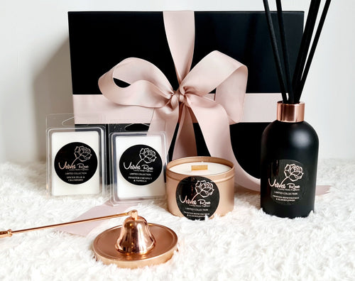 LIMITED COLLECTION | Ultimate Luxury Home Fragrance Scenting Set - Velvet Rose Home