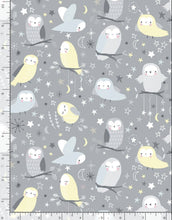 Load image into Gallery viewer, Whimsical Owls - Flannel - Full Yard