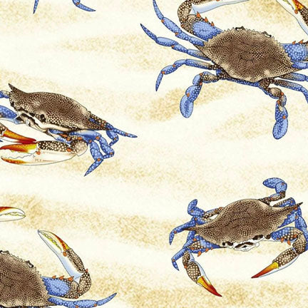 Crabs on Sand - Full Yard