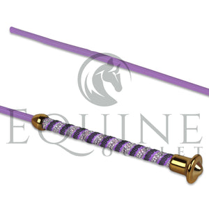 Diamante Glitter Handle Schooling Whip