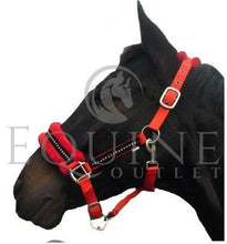 Load image into Gallery viewer, Fluffy Fleece Diamante Padded Headcollar