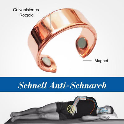 Anti-Schnarch Magnet Ring
