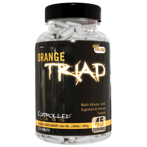 Orange Triad Multi Vitamins, 270 tabs