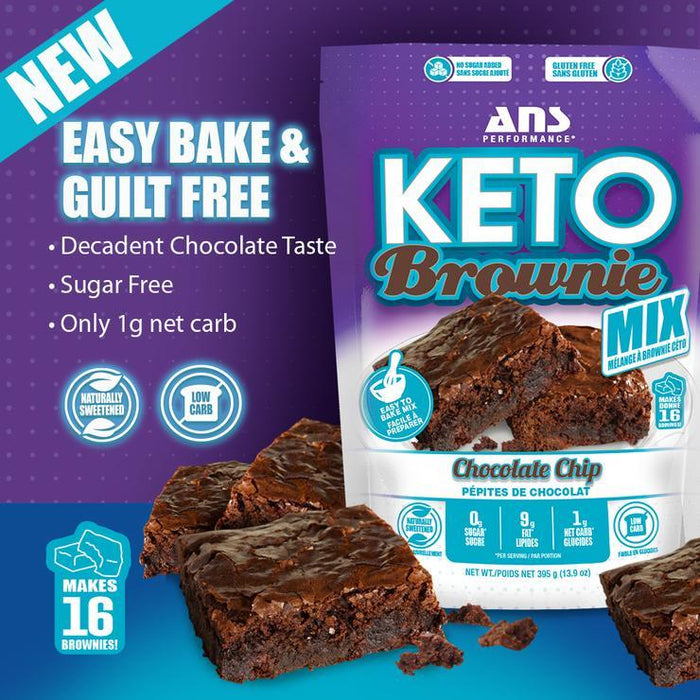 ANS Keto Brownie Mix Easy Bake and Gluten Free