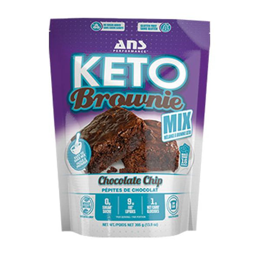 ANS Keto Brownie Mix Front