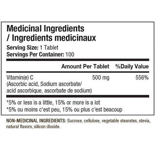 ANS Performance Vitamin C, 100 chewable