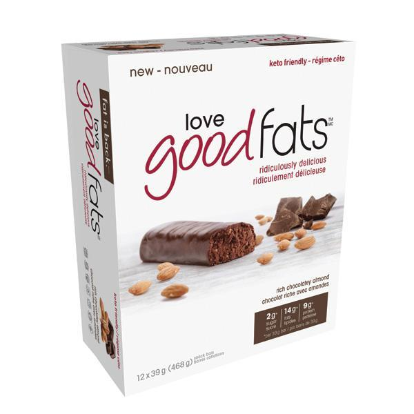 Love Good Fats Chocolate Almond - Keto Friendly Snacks