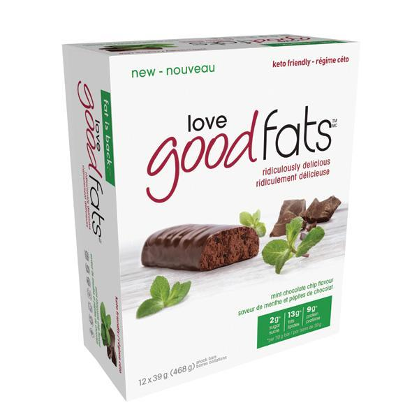 Love Good Fats Chocolate Mint - Keto Friendly Snacks