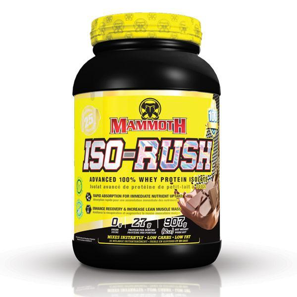 Mammoth Supplements ISO RUSH Whey Protein Isolate 2lbs