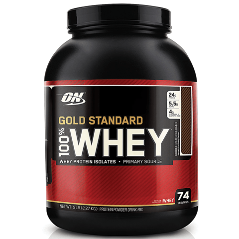 Optimum Gold Standard Whey Protein, 5lbs