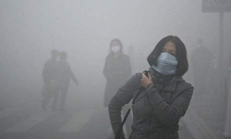 Smog in chinese cities 2013 Data