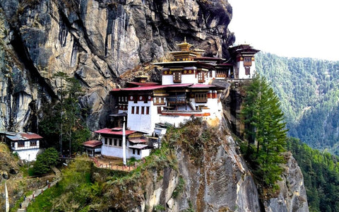 Tiger's Nest - Buddhist Temple in Bhutan  - Green 'N' Groovy Bamboo Blog