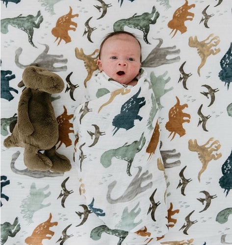 Sustainable Baby Blanket - Green 'N' Groovy - Products