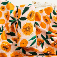 Load image into Gallery viewer, Orange Baby Blanket - Green 'N' Groovy - Products