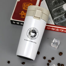 Load image into Gallery viewer, Stainless Steel Thermo Coffee Mug