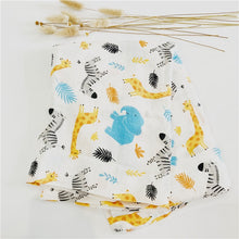 Load image into Gallery viewer, Zoo baby blanket sustainable - Green 'N' Groovy - Products