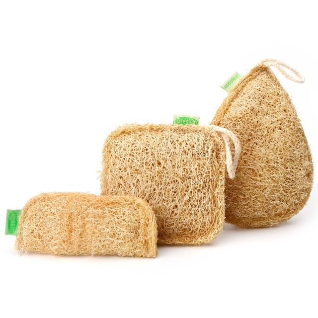 Anti oil Kitchen Sponge handmade 3 pieces