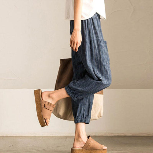 Harem Hemp Pants - Loose Fitting