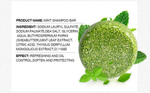 Load image into Gallery viewer, PURC Organic Shampoo Bar - Green 'N' Groovy