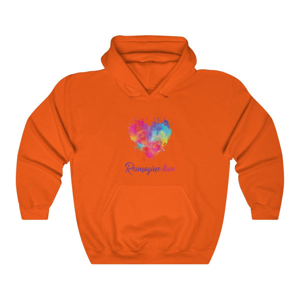 REIMAGINE LOVE - Unisex Heavy Blend™ Hooded Sweatshirt
